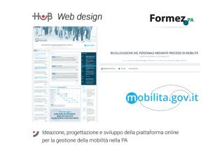 Ideazione, progettazione e sviluppo  della piattaforma online  per la gestione della mobilità nella PA